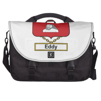Eddy Family Crest Bags For Laptop