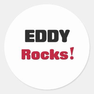 Eddy Rocks Classic Round Sticker