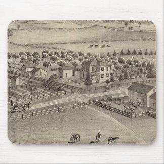 Eddy stock farm & residence, Benton Tp Mouse Pad