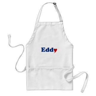 Eddy with Heart Adult Apron