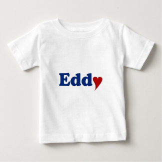 Eddy with Heart Baby T-Shirt