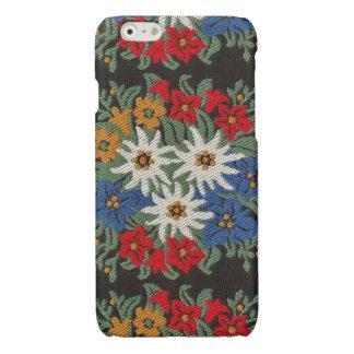Edelweiss Alpine Flower Glossy iPhone 6 Case