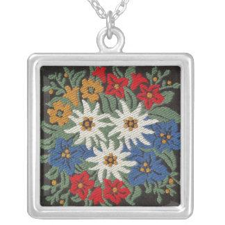 Edelweiss Alpine Flower Necklaces