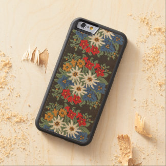 Edelweiss Alpine Flower Carved® Maple iPhone 6 Bumper Case