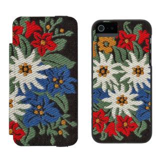 Edelweiss Alpine Flower Incipio Watson™ iPhone 5 Wallet Case