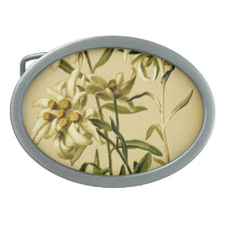 Edelweiss Belt Buckle