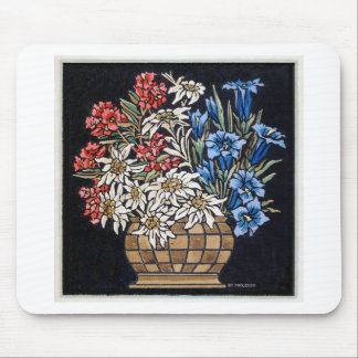 Edelweiss Bouquet Mouse Pad