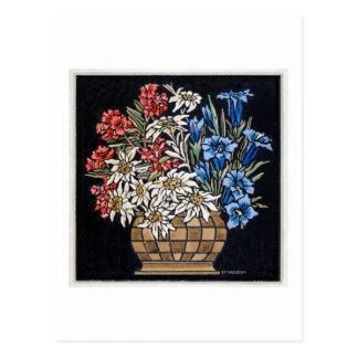 Edelweiss Bouquet Post Card