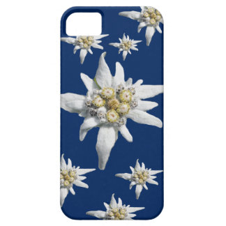 Edelweiss Case on dark blue background