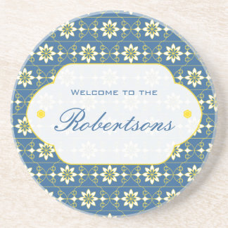 Edelweiss Choose Your Color Coasters