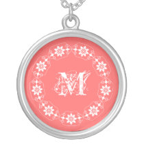 Edelweiss Choose Your Color Initial Necklace