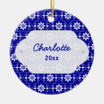 Edelweiss Christmas Ornament