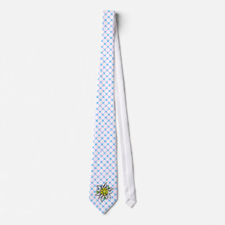 Edelweiss en azul Weis Corbatas Personalizadas