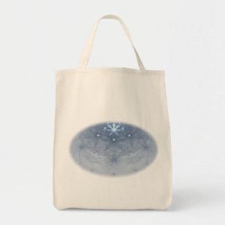 Edelweiss florece arte del fractal bolsa tela para la compra