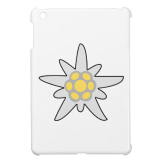 Edelweiss flower cover for the iPad mini