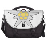Edelweiss flower laptop commuter bag