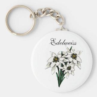 Edelweiss Flowers Keychain