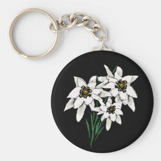 Edelweiss Flowers Key Chain