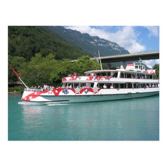 Edelweiss, Lake steamer Postcard