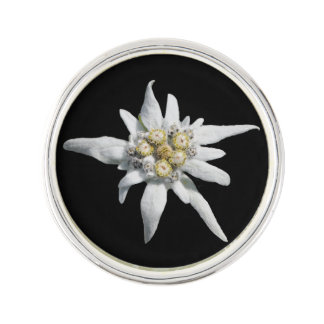 Edelweiss Photo Lapel Pin