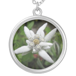 Edelweiss Silver Plated Necklace