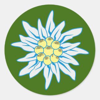 Edelweiss Stickers