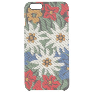 Edelweiss Swiss Alpine Flower Clear iPhone 6 Plus Case