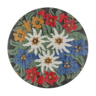 Edelweiss Swiss Alpine Flower Cutting Board