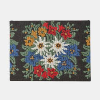 Edelweiss Swiss Alpine Flower Doormat