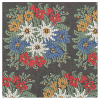 Edelweiss Swiss Alpine Flower Fabric