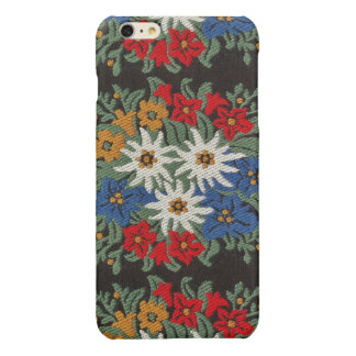 Edelweiss Swiss Alpine Flower Glossy iPhone 6 Plus Case