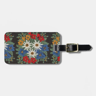 Edelweiss Swiss Alpine Flower Luggage Tag