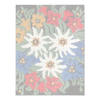Edelweiss Swiss Alpine Flower Magnetic Card