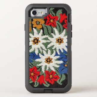 Edelweiss Swiss Alpine Flower OtterBox Defender iPhone 8/7 Case