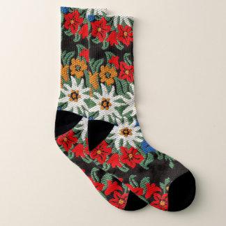 Edelweiss Swiss Alpine Flower Socks