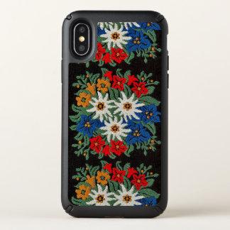 Edelweiss Swiss Alpine Flower Speck iPhone X Case
