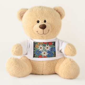 Edelweiss Swiss Alpine Flower Teddy Bear