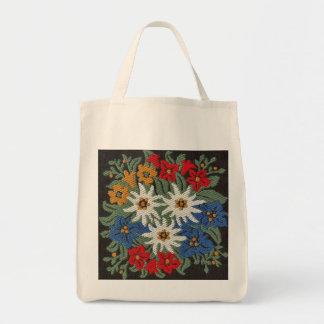 Edelweiss Swiss Alpine Flower Tote Bag