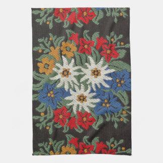 Edelweiss Swiss Alpine Flower Towel