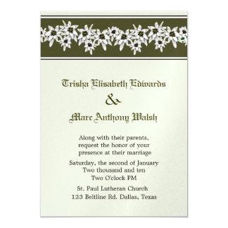 Edelweiss Wedding Invitation