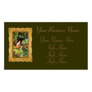 Eden Adam In The Garden Double-Sided Standard Business Cards (Pack Of 100)