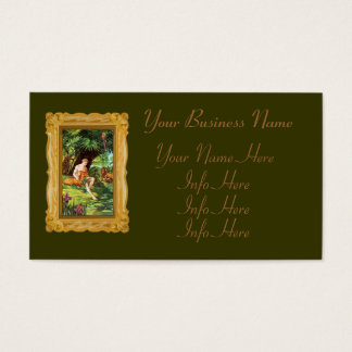 Eden Adam In The Garden Business Card