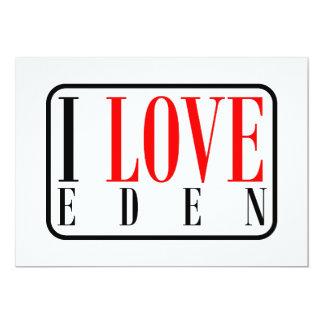 Eden, Alabama Invitación 12,7 X 17,8 Cm