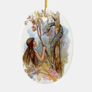 Eden Eve y la serpiente Ornamentos De Reyes