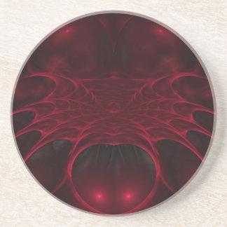 Eden Fractal Sandstone Coaster