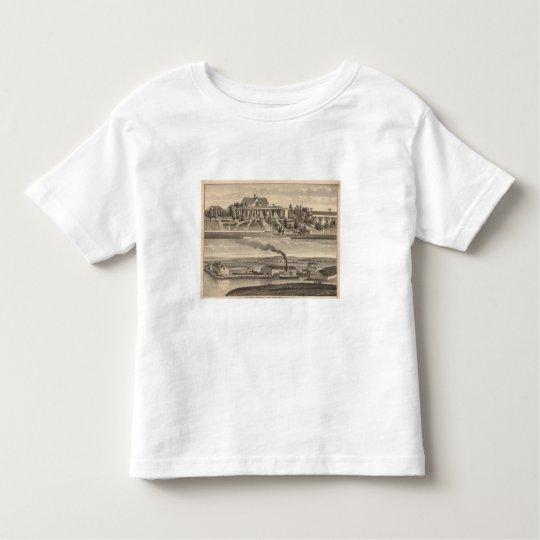 Eden Landing, Barron residence, warehouses Toddler T-shirt