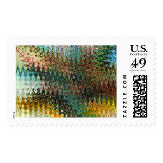 Eden Large Postage Stamps by Artist C.L. Brown