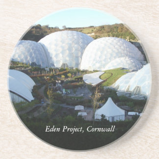 Eden Project, Cornwall, England Drink Coaster