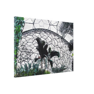 Eden Project Painting on Canvas