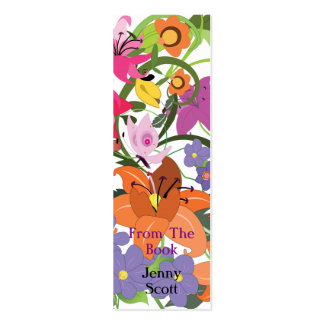Eden, Skinny Card Bookmark Double-Sided Mini Business Cards (Pack Of 20)